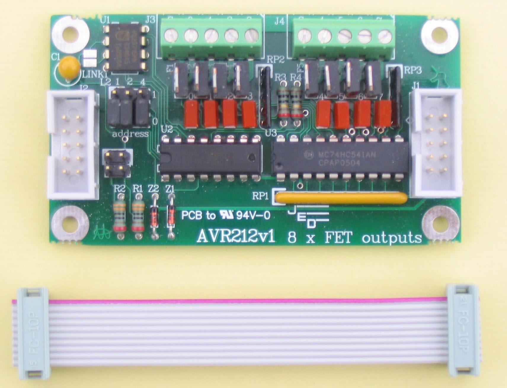 JED AVR200 Single Board Computer